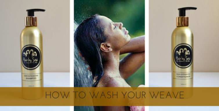 How to Wash your Weave