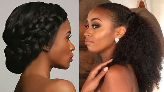 The Right Hair For A Traditional Wedding