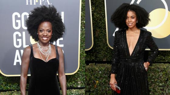 Golden Globes Hair 2018